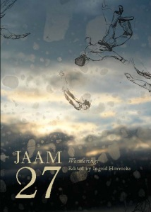 Cover of JAAM magazine Issue 27