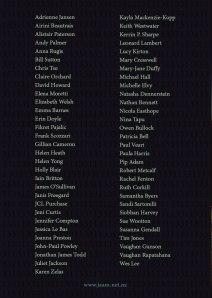 JAAM 31 contributors